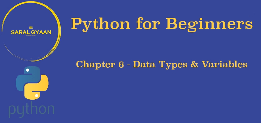 Chapter 6 - Data Types & Variables