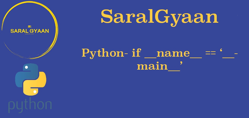 If __name__ == '__main__' in Python