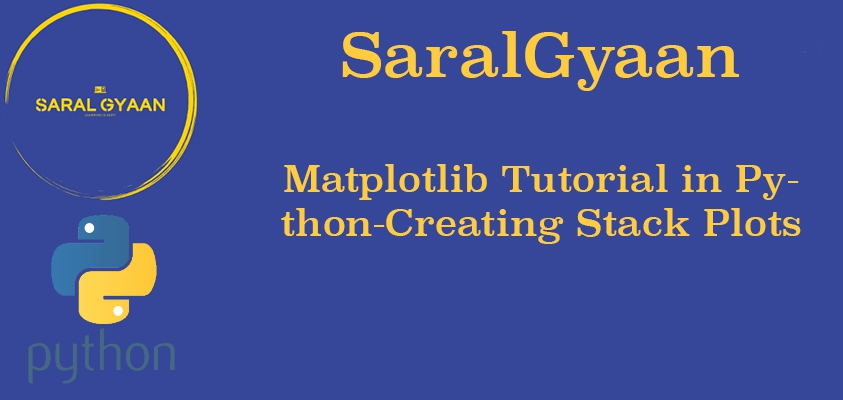 Matplotlib Stack Plots Bars Matplotlib Tutorial In Python