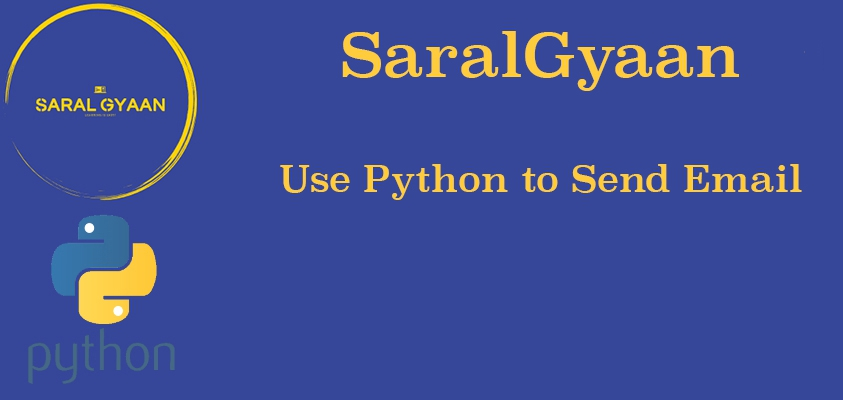 Use Python to send emails